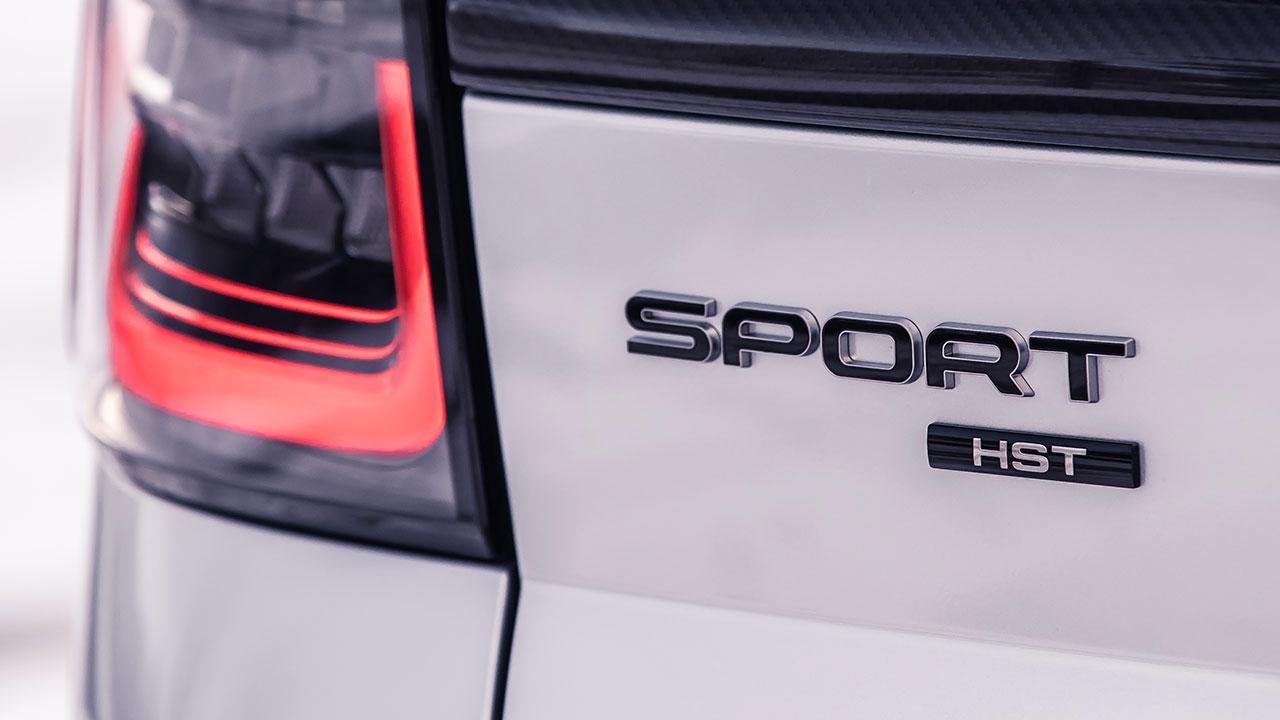 Range Rover Sport - Schriftzug