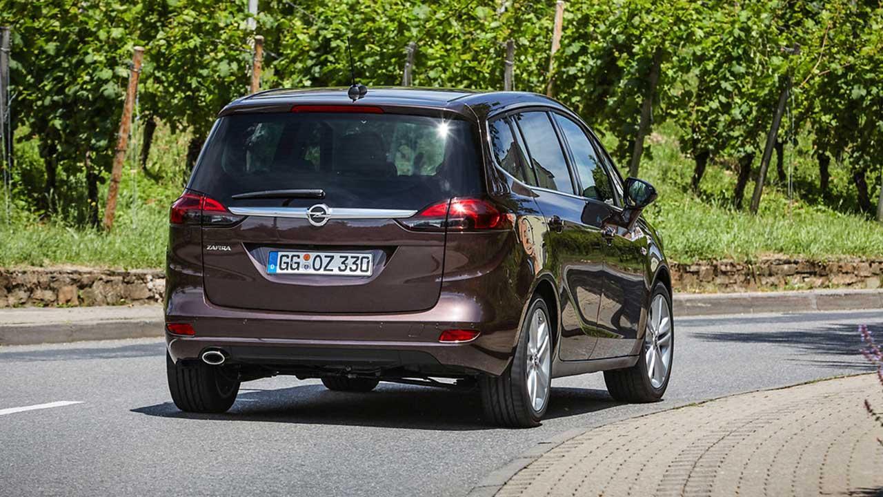 Opel Zafira - Heckansicht