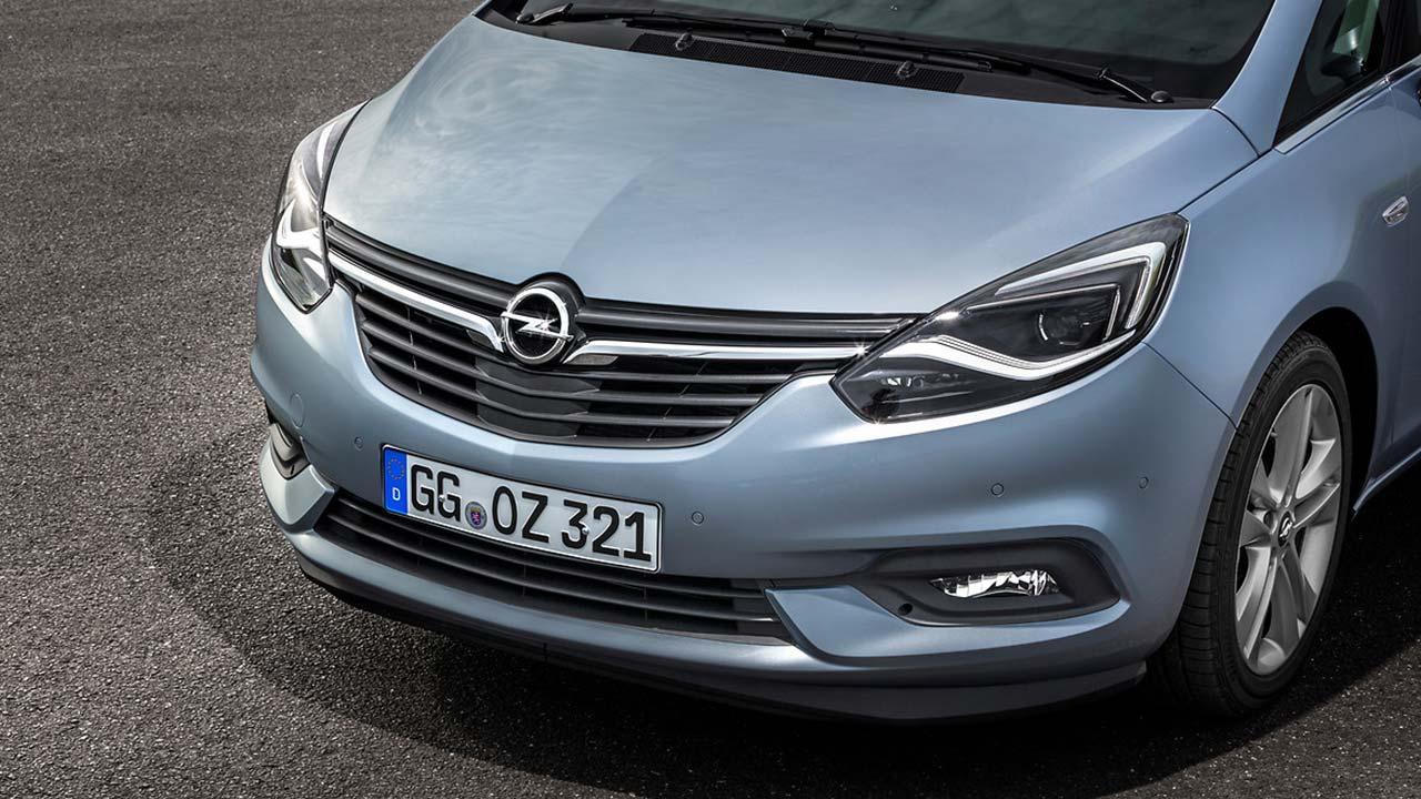 Opel Zafira - Motoerhaube