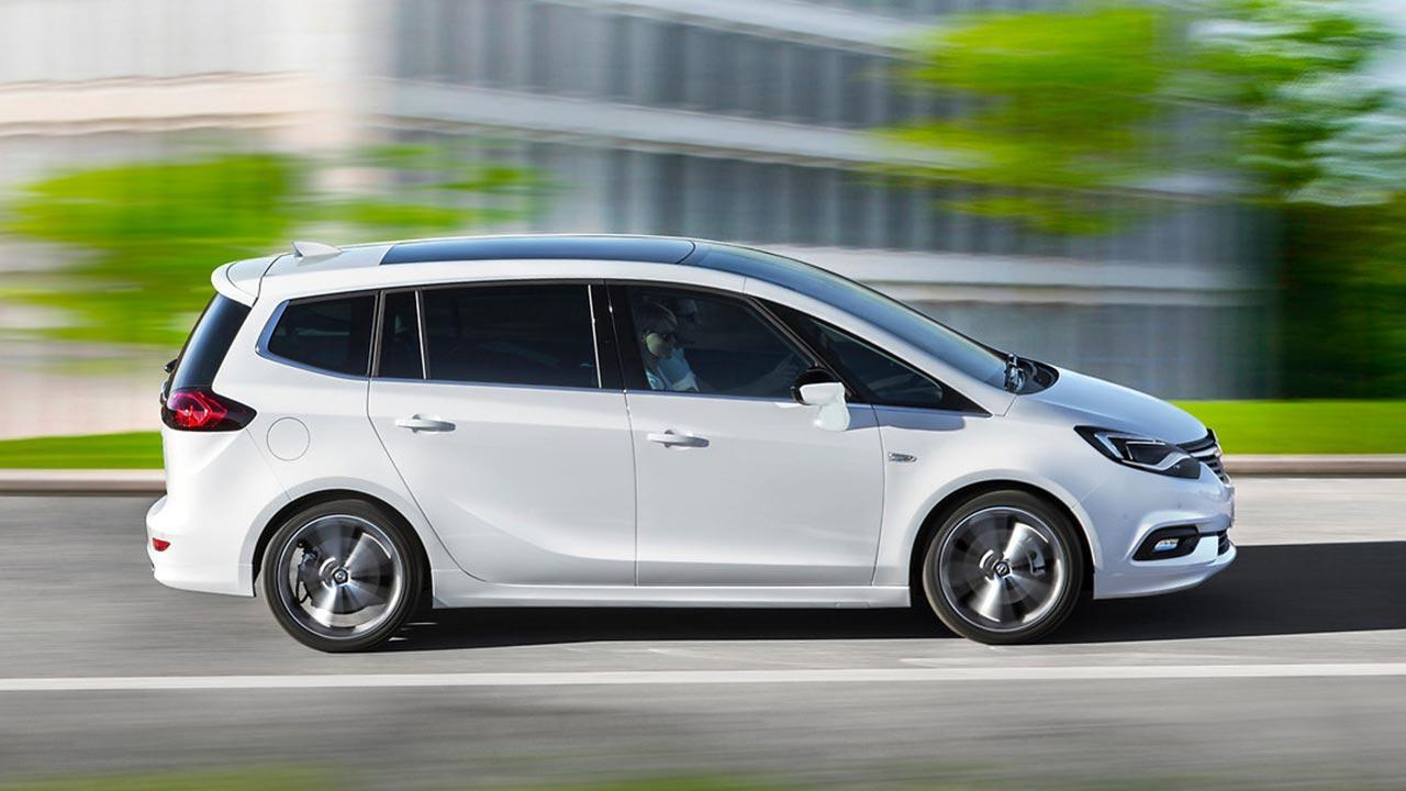 Opel Zafira - Seitenansicht
