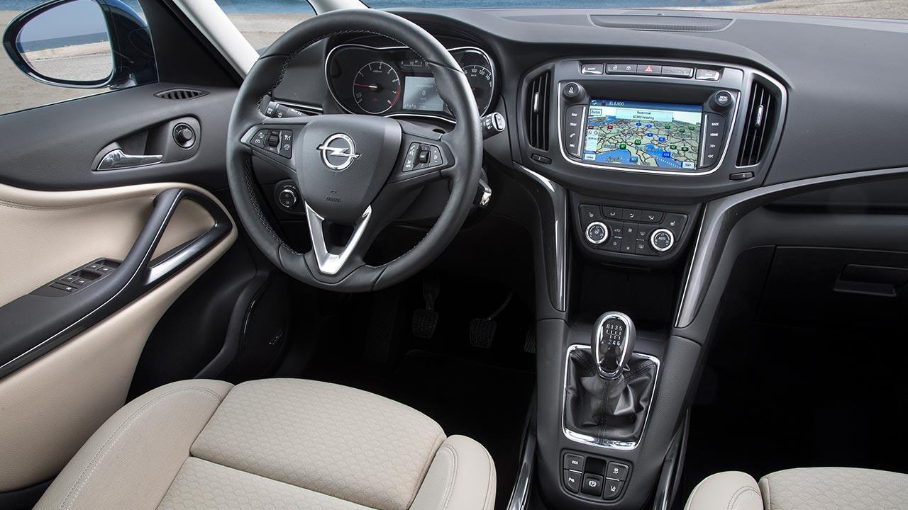 Opel Zafira - Cockpit
