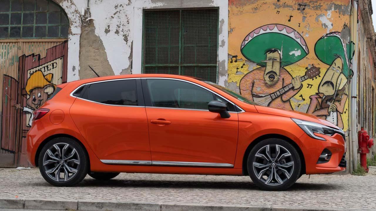 Renault Clio - Seitenansicht