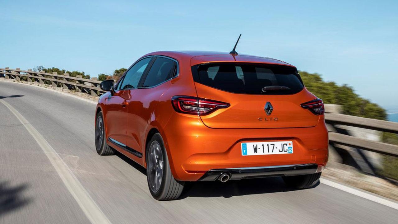 Renault Clio - Heckansicht