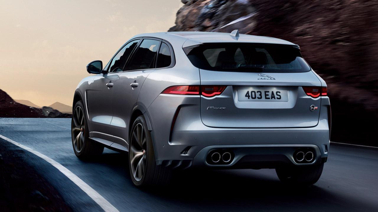 Jaguar F-PACE -  Rückansicht