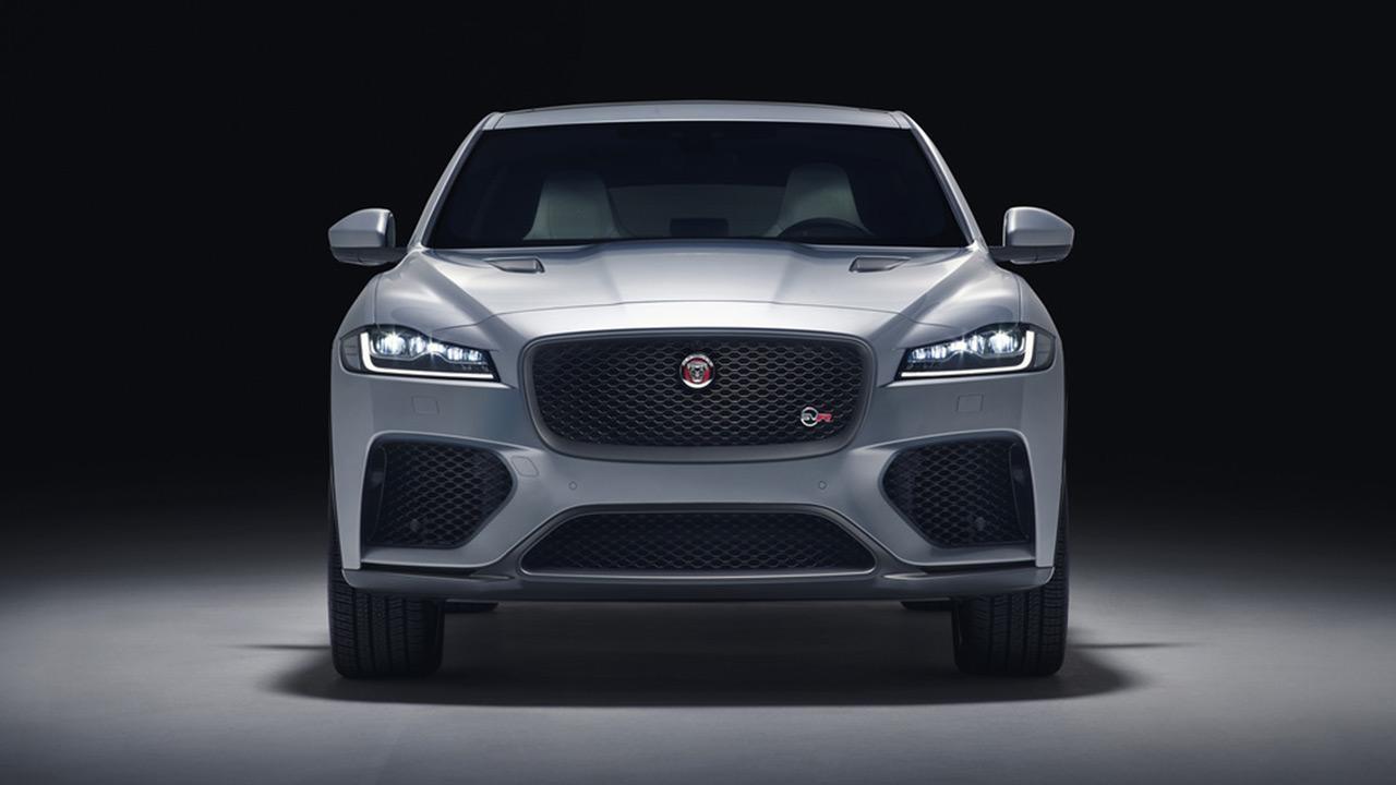 Jaguar F-PACE - Frontansicht