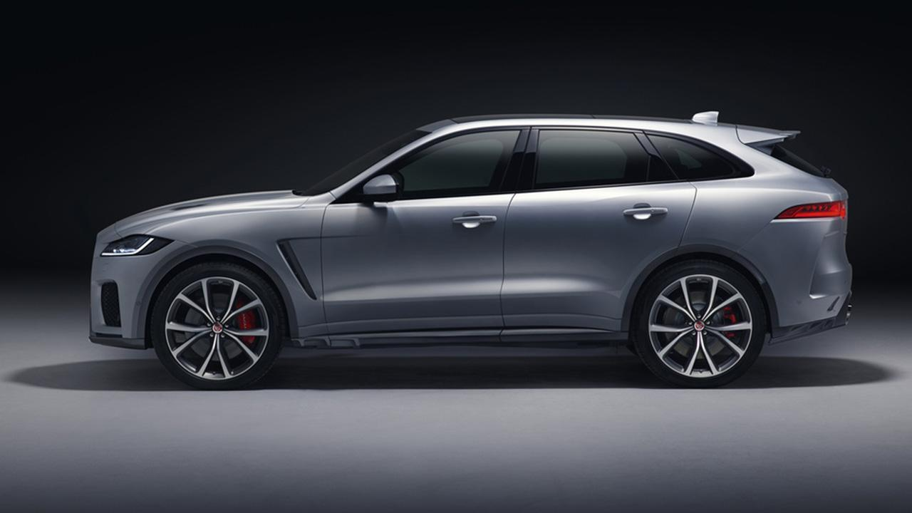 Jaguar F-PACE - Seitenansicht
