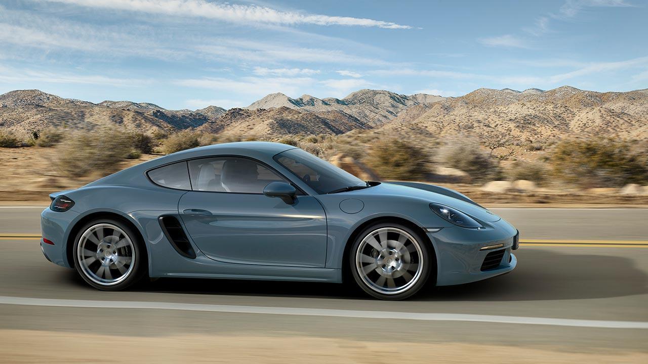 Porsche 718 Cayman - Seitenansicht