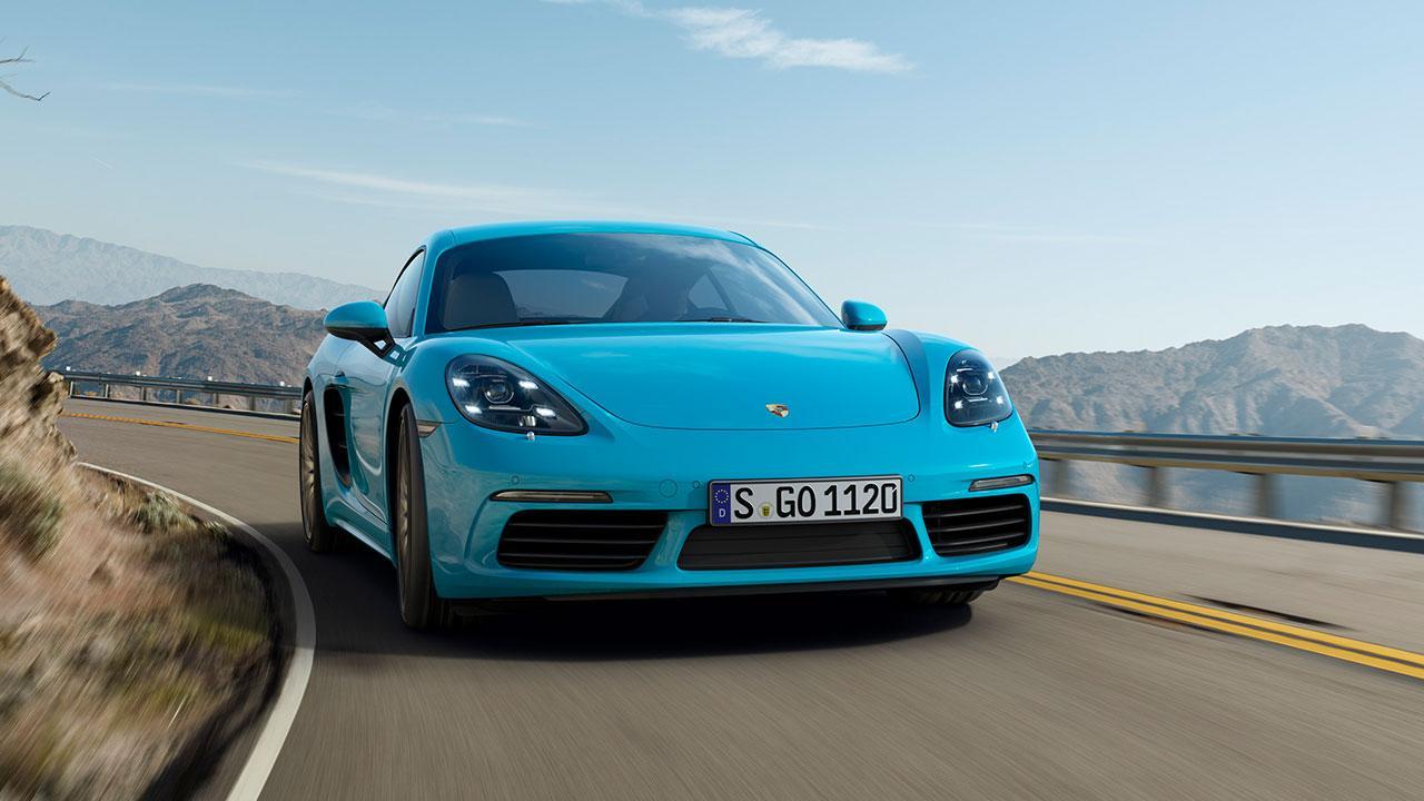Porsche 718 Cayman S - Frontansicht