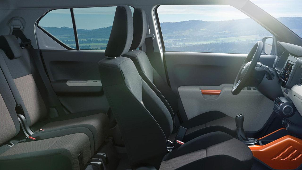 Suzuki Ignis - Innenansicht