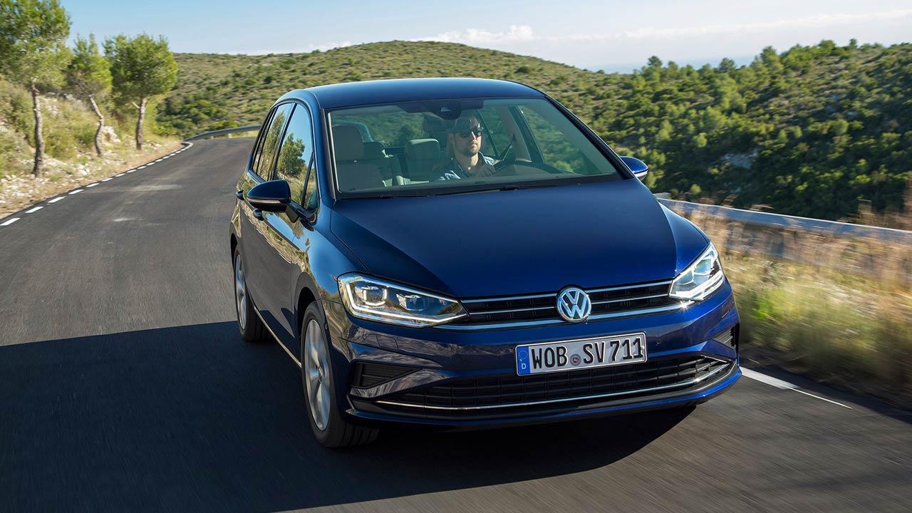 Volkswagen Golf Sportsvan - Frontansicht