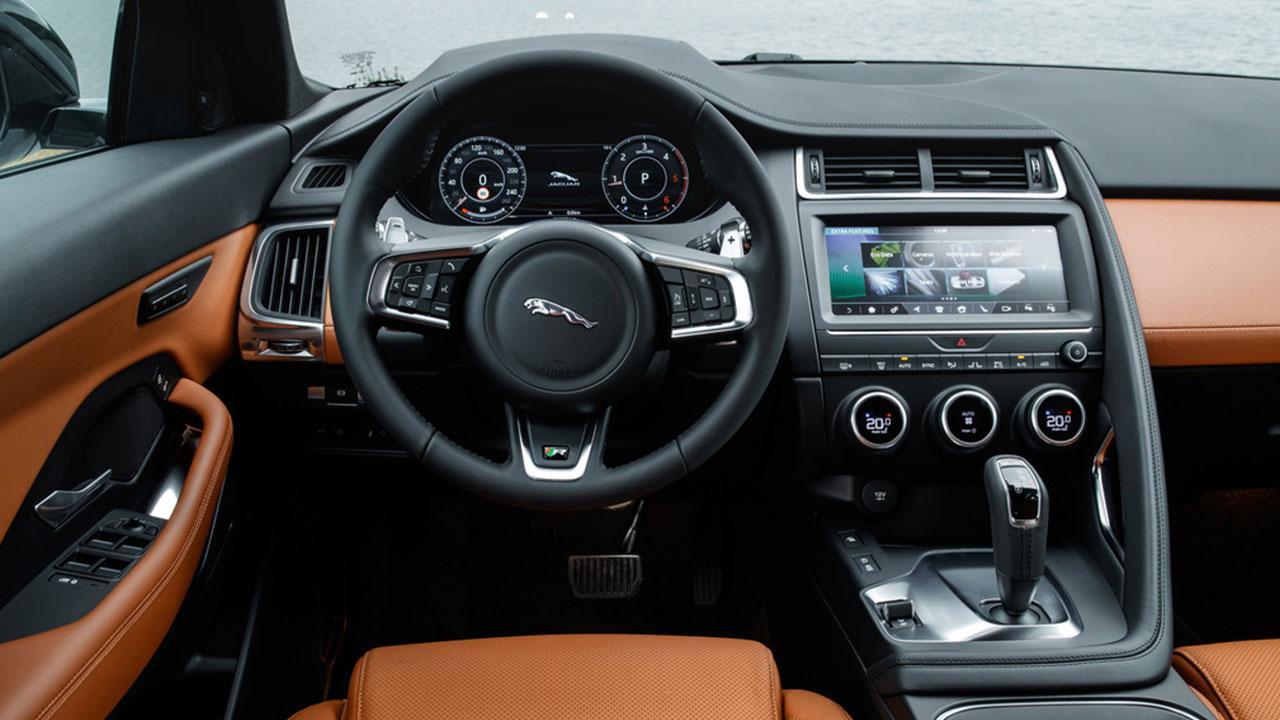 Jaguar E-PACE - Cockpit
