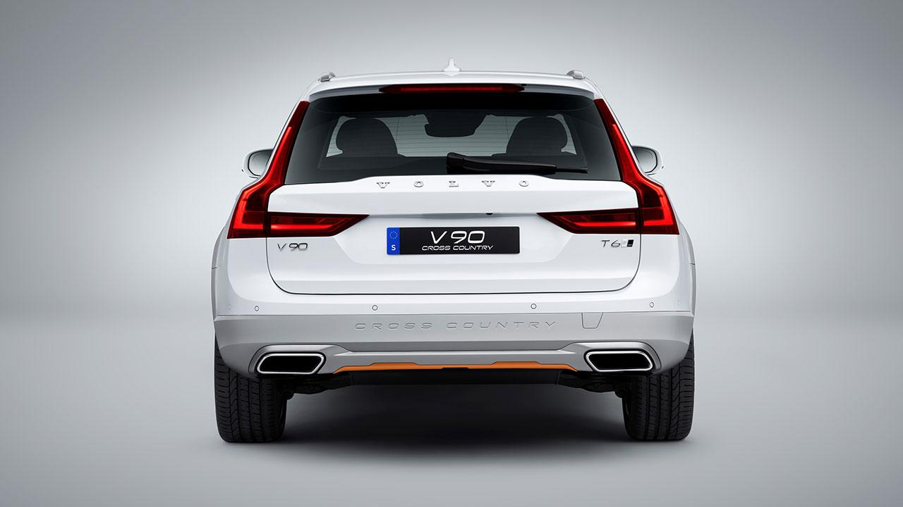 Volvo V90 Cross Country - Heckansicht