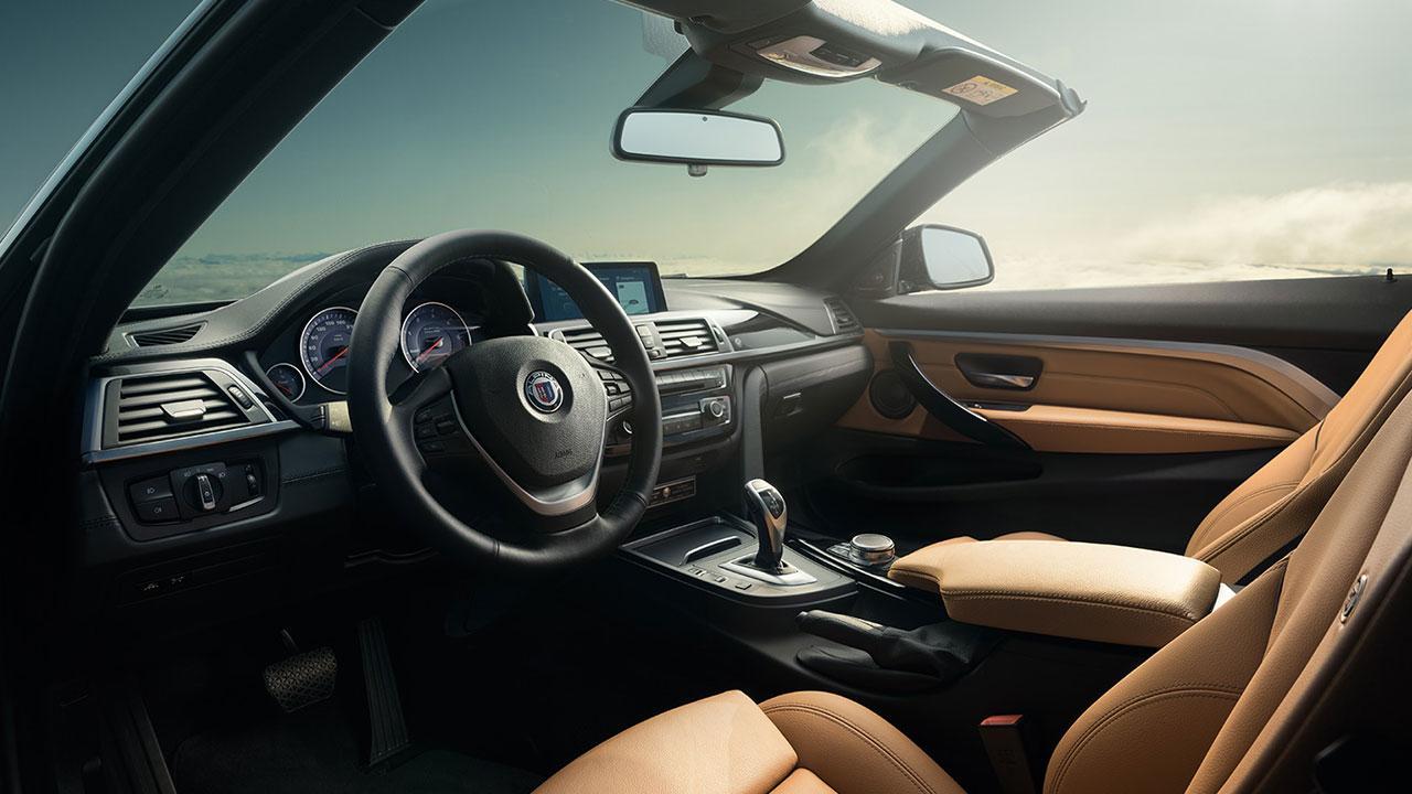 Alpina D4 Biturbo Cabrio - Cockpit