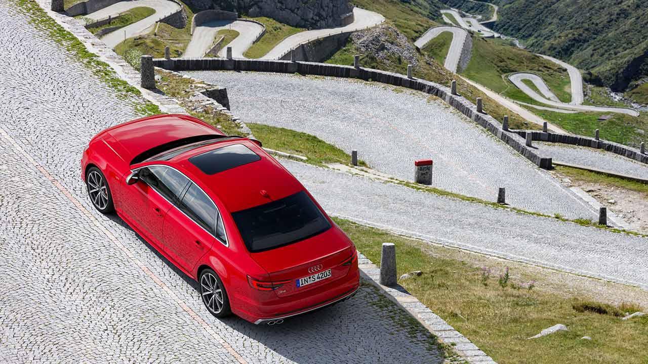 Audi S4 Limousine - Vogelperspektive