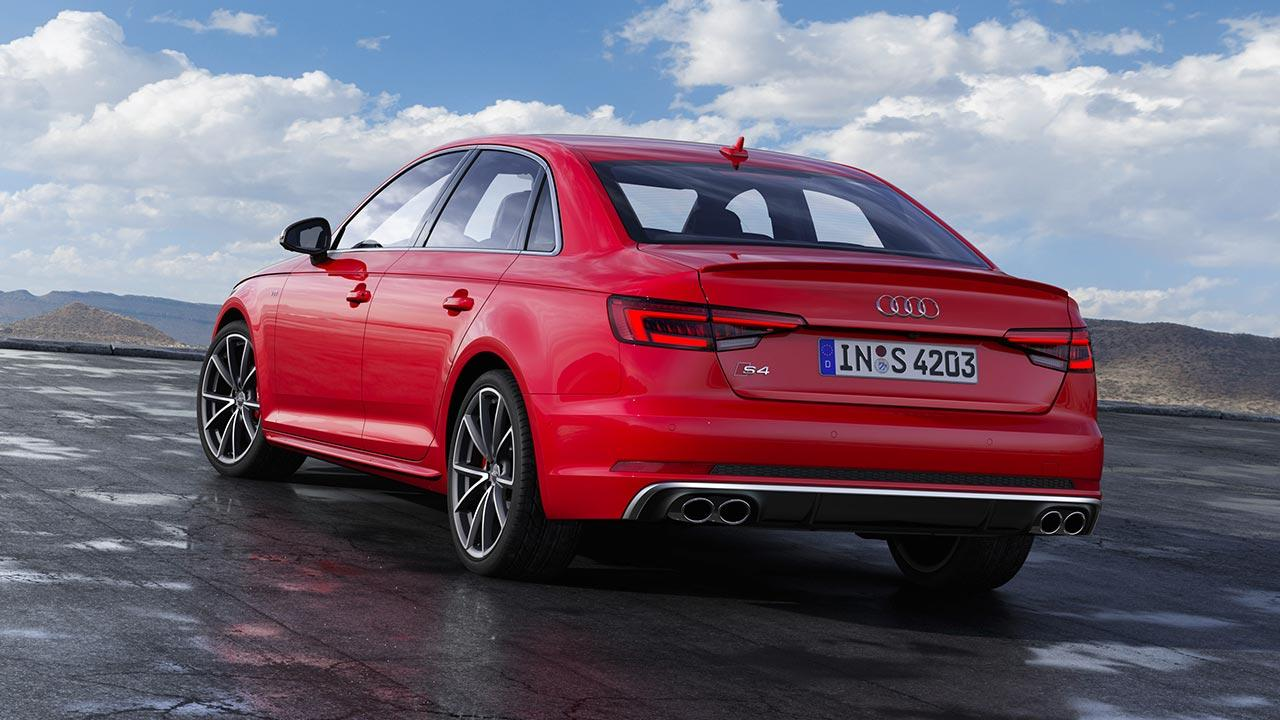 Audi S4 Limousine - Heckansicht