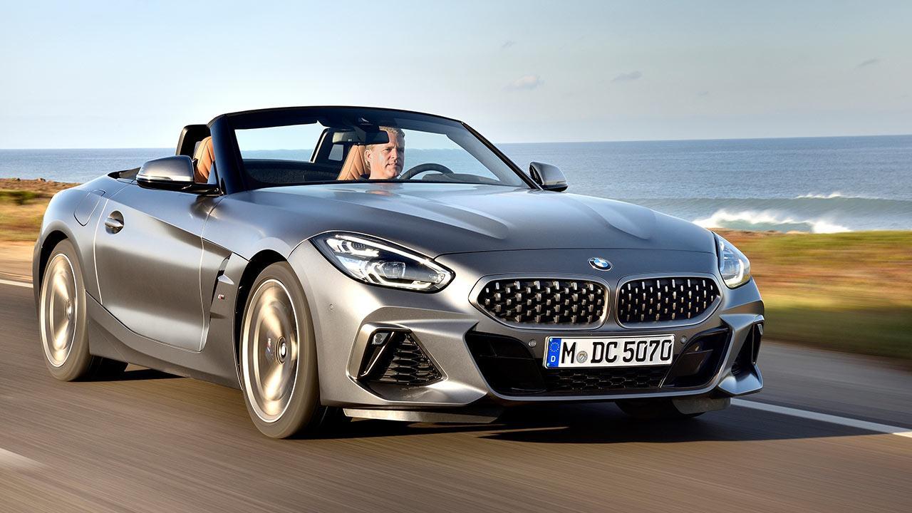 BMW Z4 Roadster M40i - in voller Fahrt