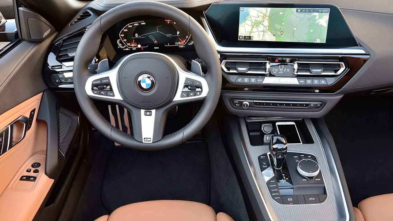 BMW Z4 Roadster M40i - Cockpit