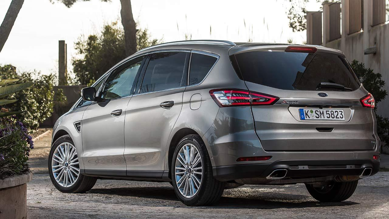 Ford S-Max - Heckansicht