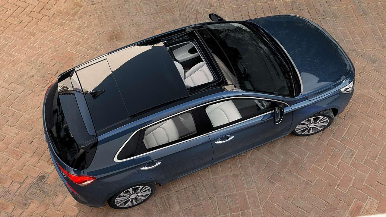 Hyundai i30 - Vogelansicht