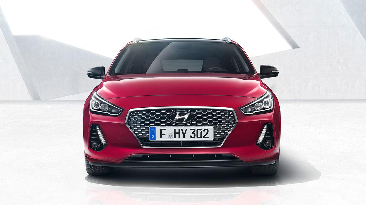 Hyundai i30 Kombi - Frontansicht