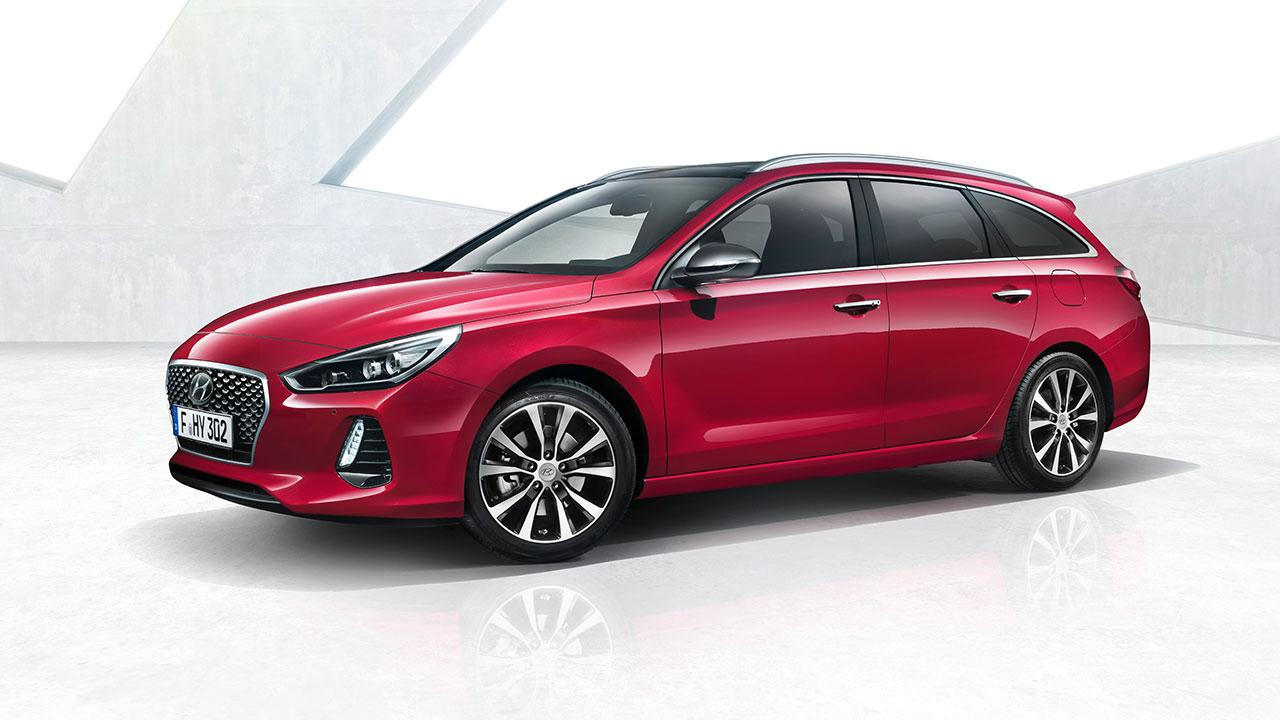 Hyundai i30 Kombi - Seitenansicht