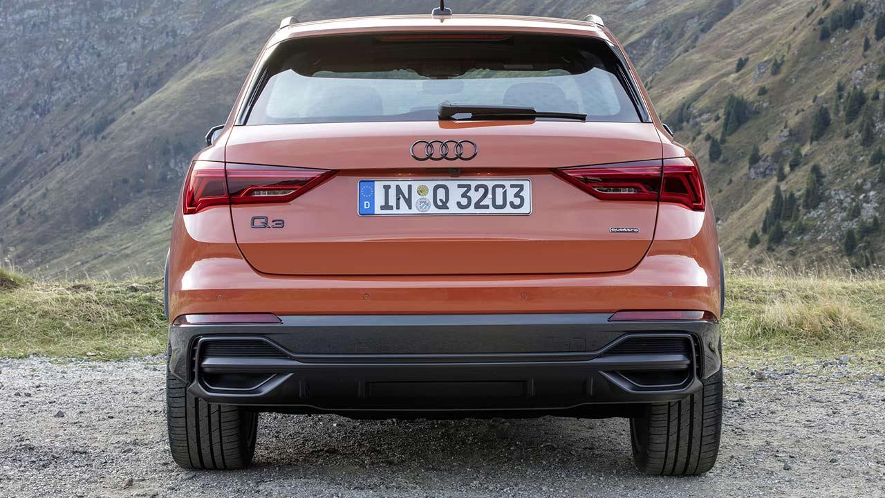 Audi Q3 2020 - Heckansicht
