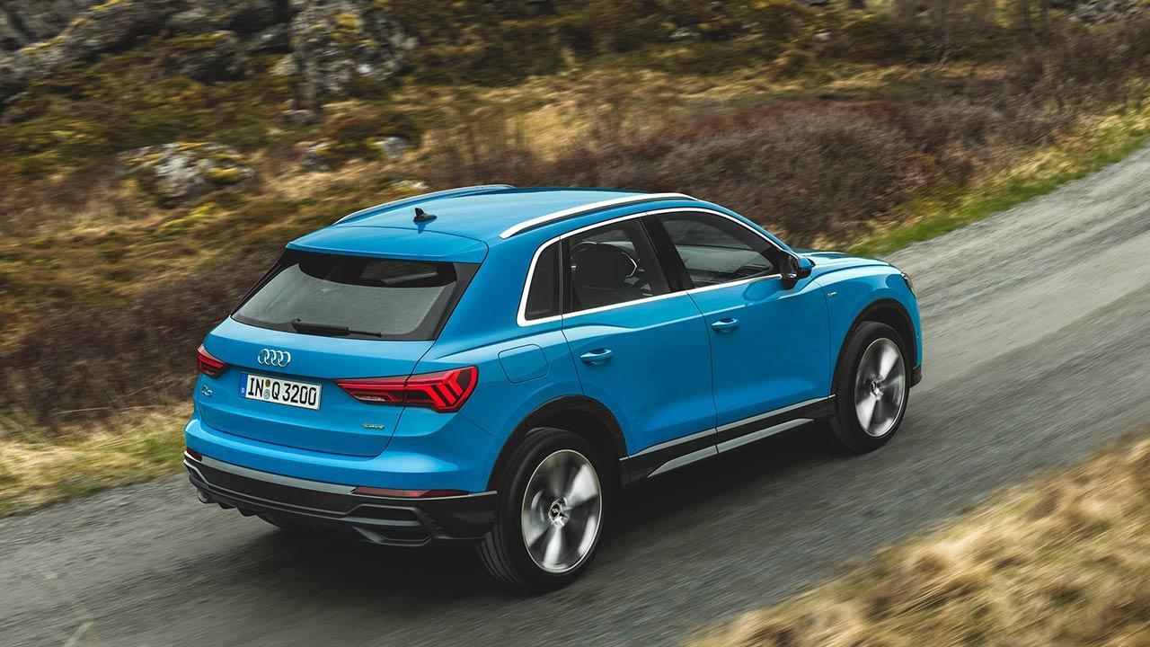 Audi Q3 2020 - auf der Landstraße