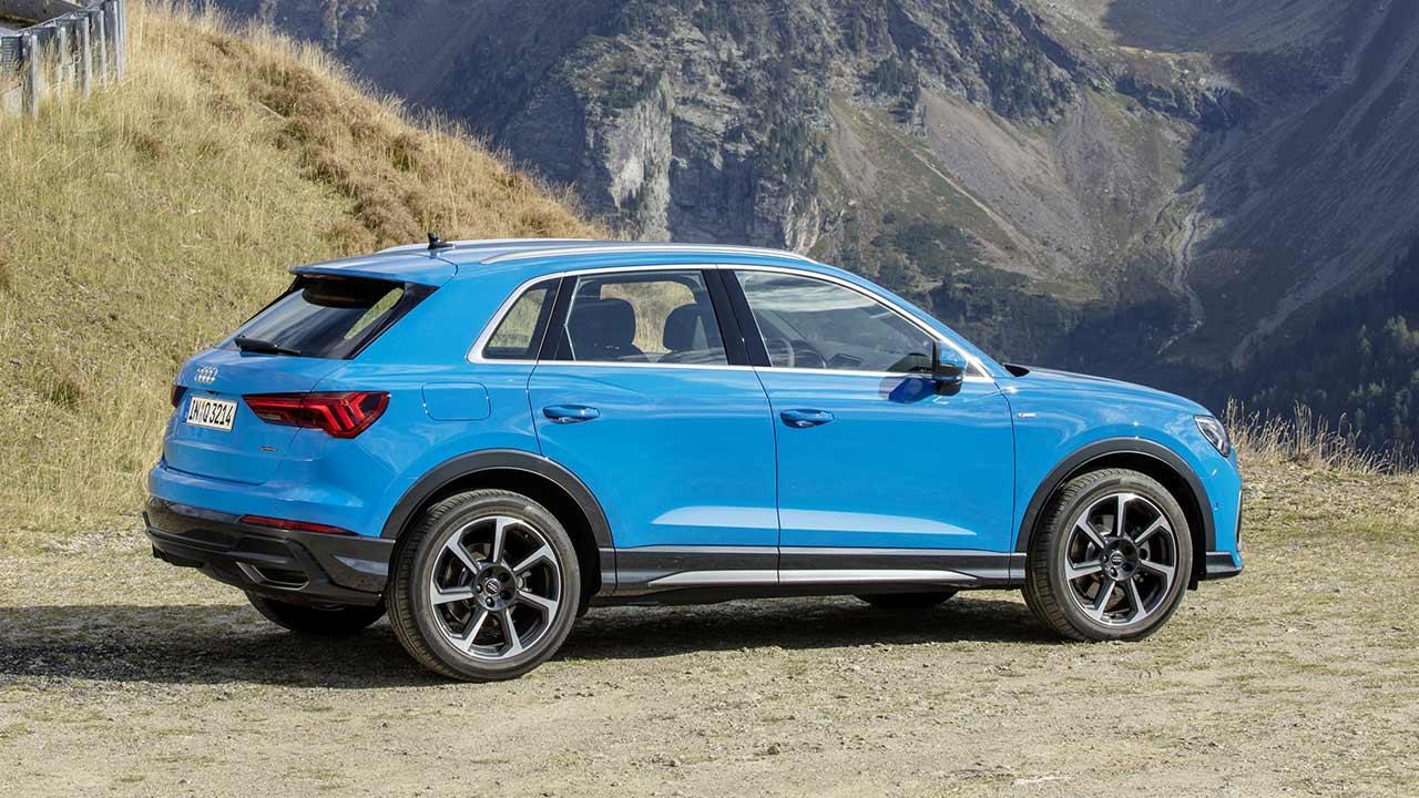 Audi Q3 2020 - Seitenansicht
