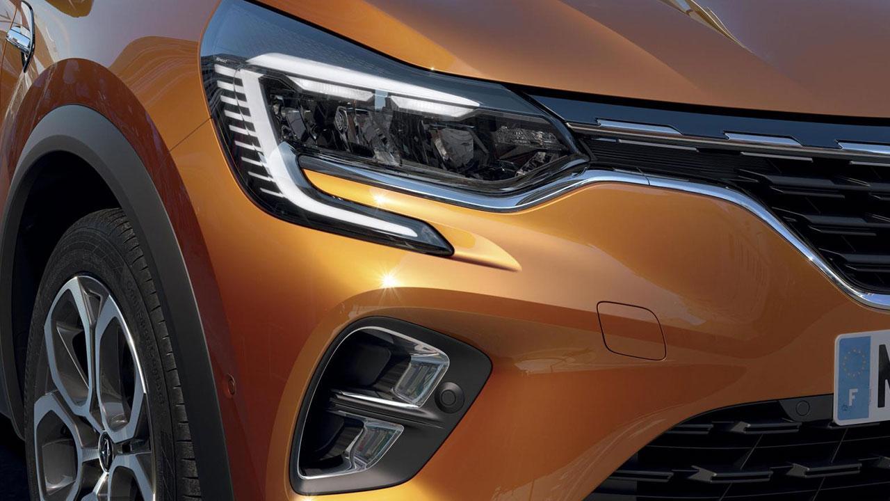 Renault Captur - Scheinwerfer