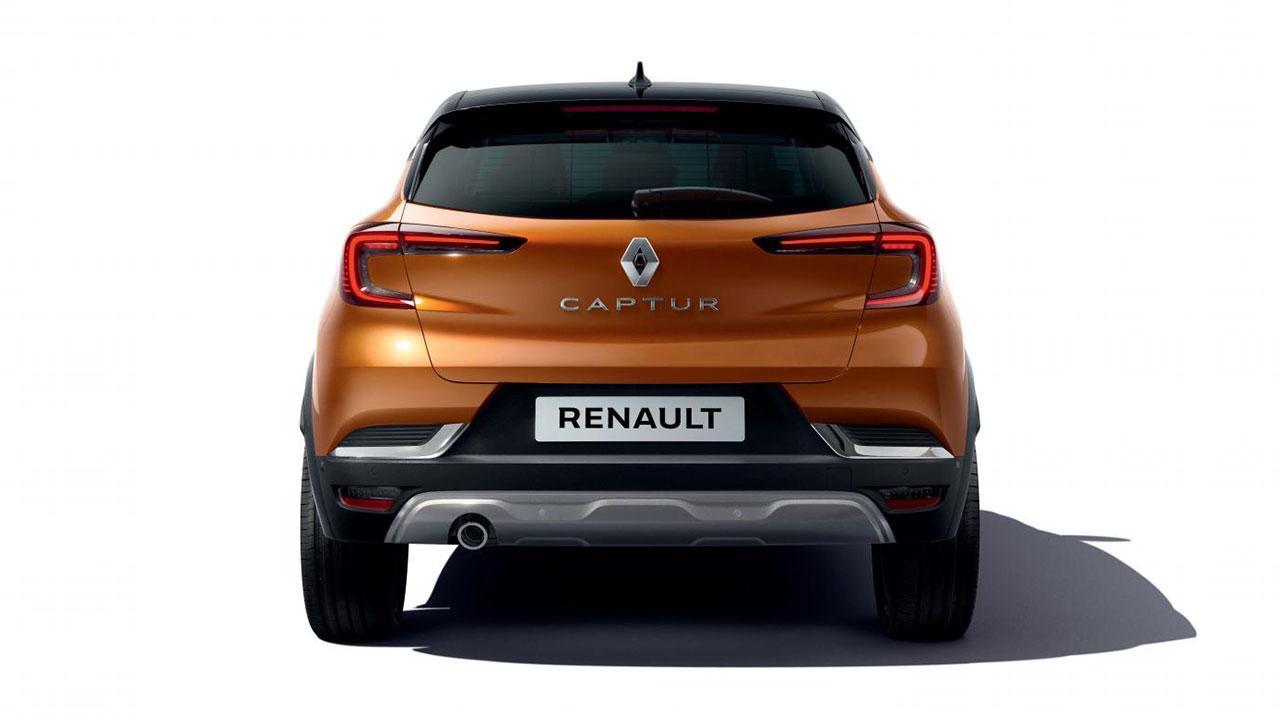 Renault Captur - Heckansicht
