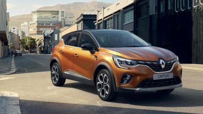 Renault Captur - in voller Fahrt