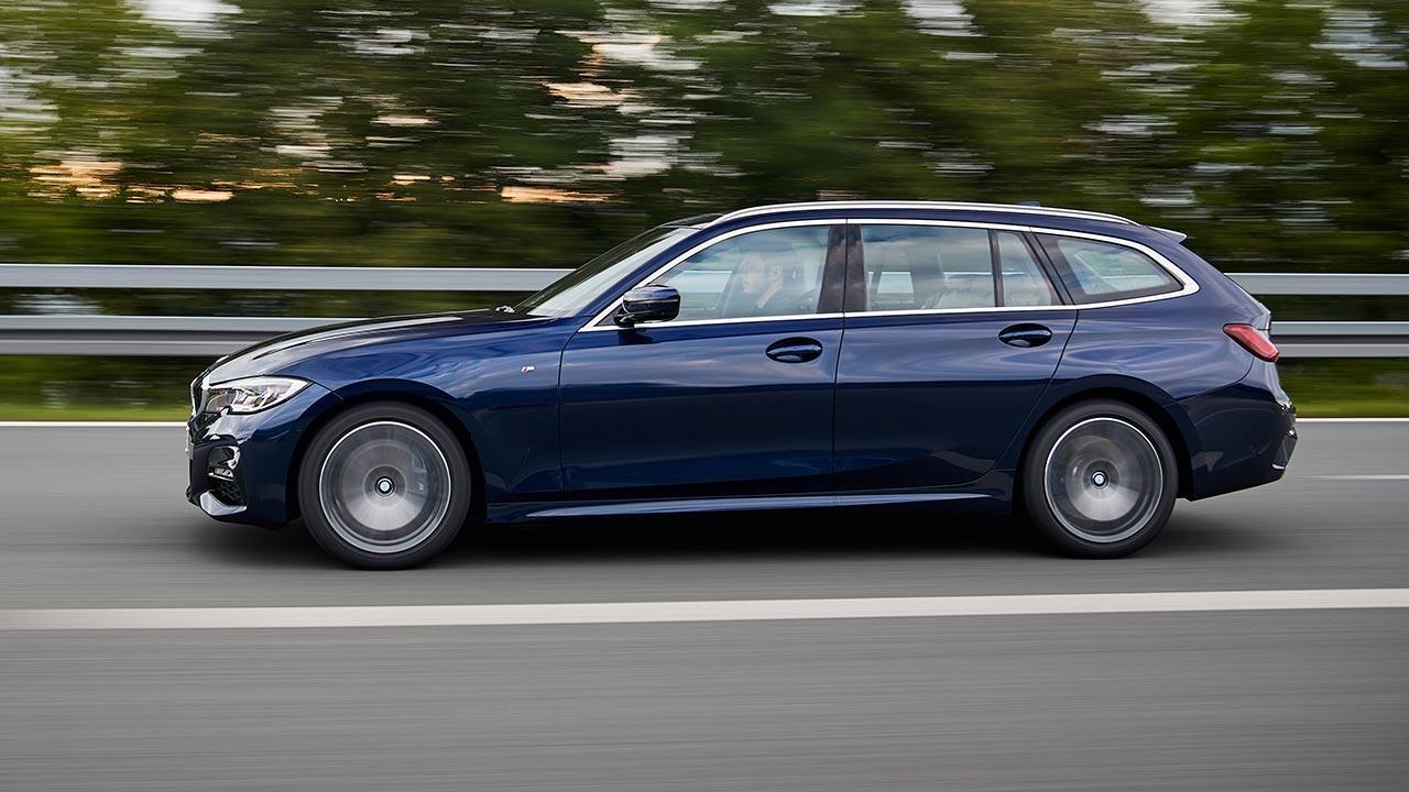BMW 3er Touring - Seitenansicht
