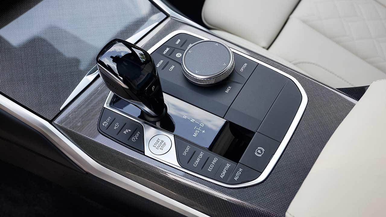 BMW 3er Touring - Schaltkonsole