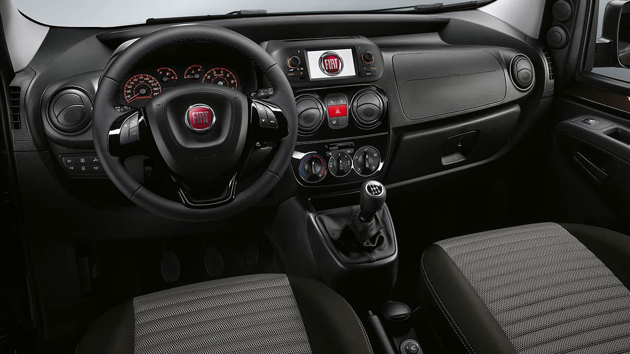 Fiat Qubo - Cockpit