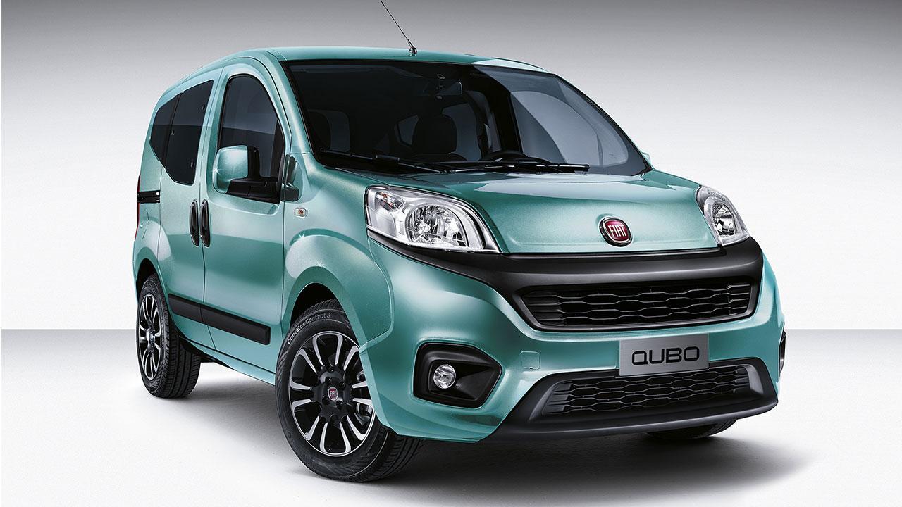 Fiat Qubo - seitliche Frontansicht