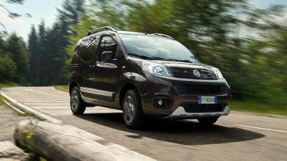 Fiat Qubo - in voller Fahrt