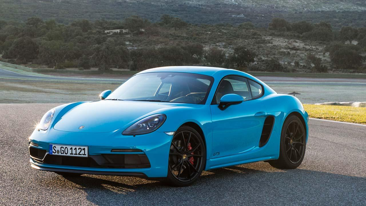 Porsche Cayman GTS - Frontansicht
