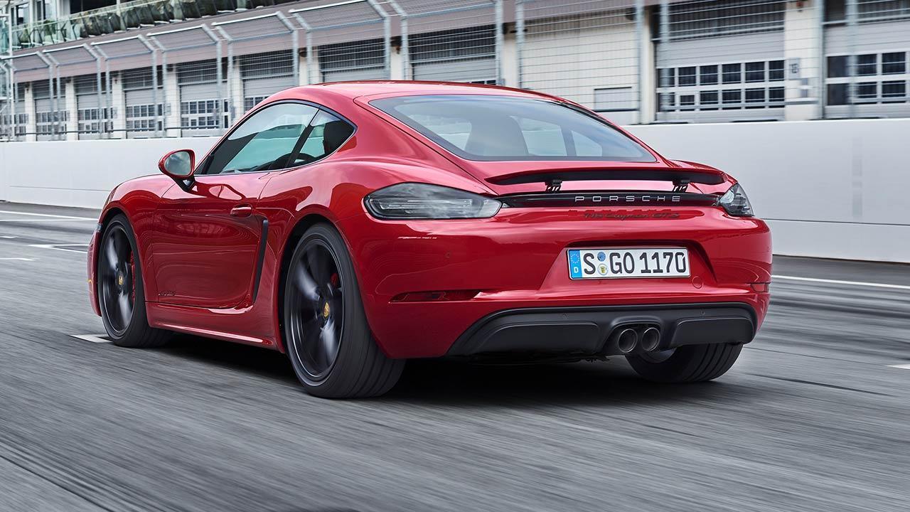 Porsche Cayman GTS - in rot