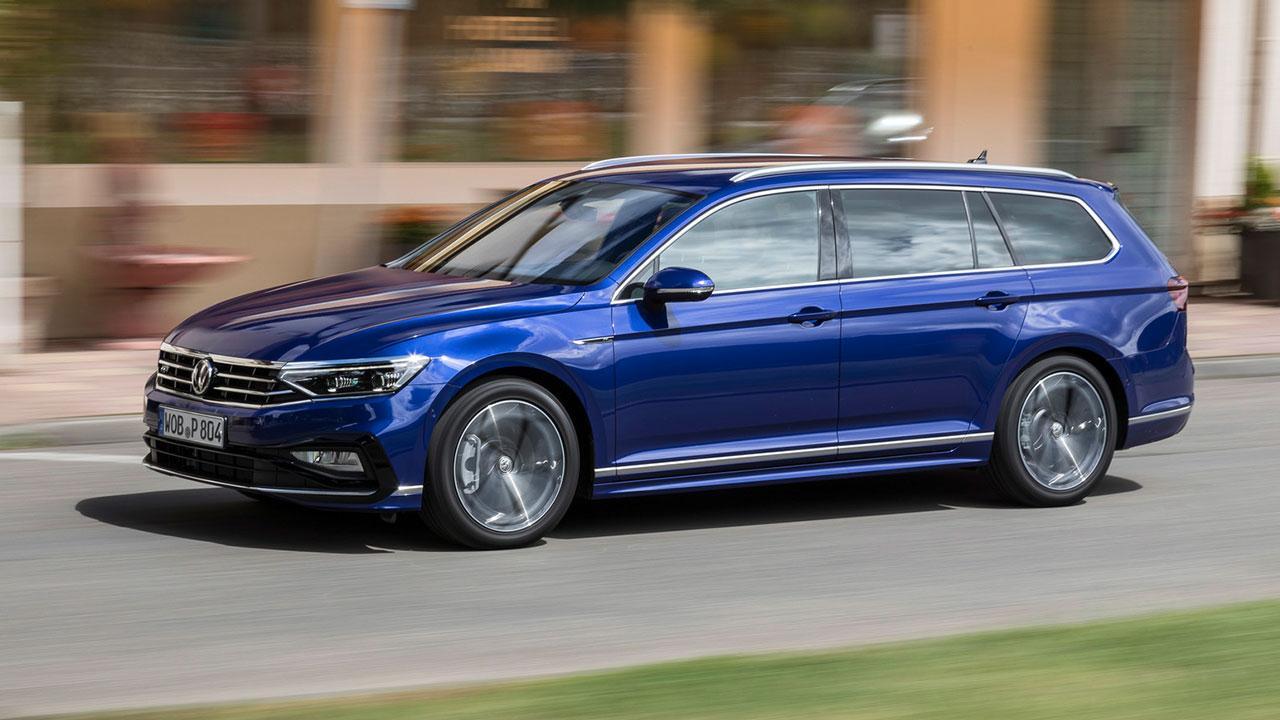 Volkswagen Passat Variant - Seitenansicht