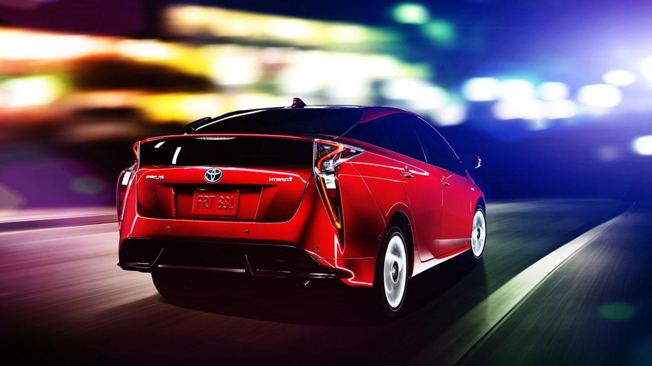 Toyota Prius - Heckansicht