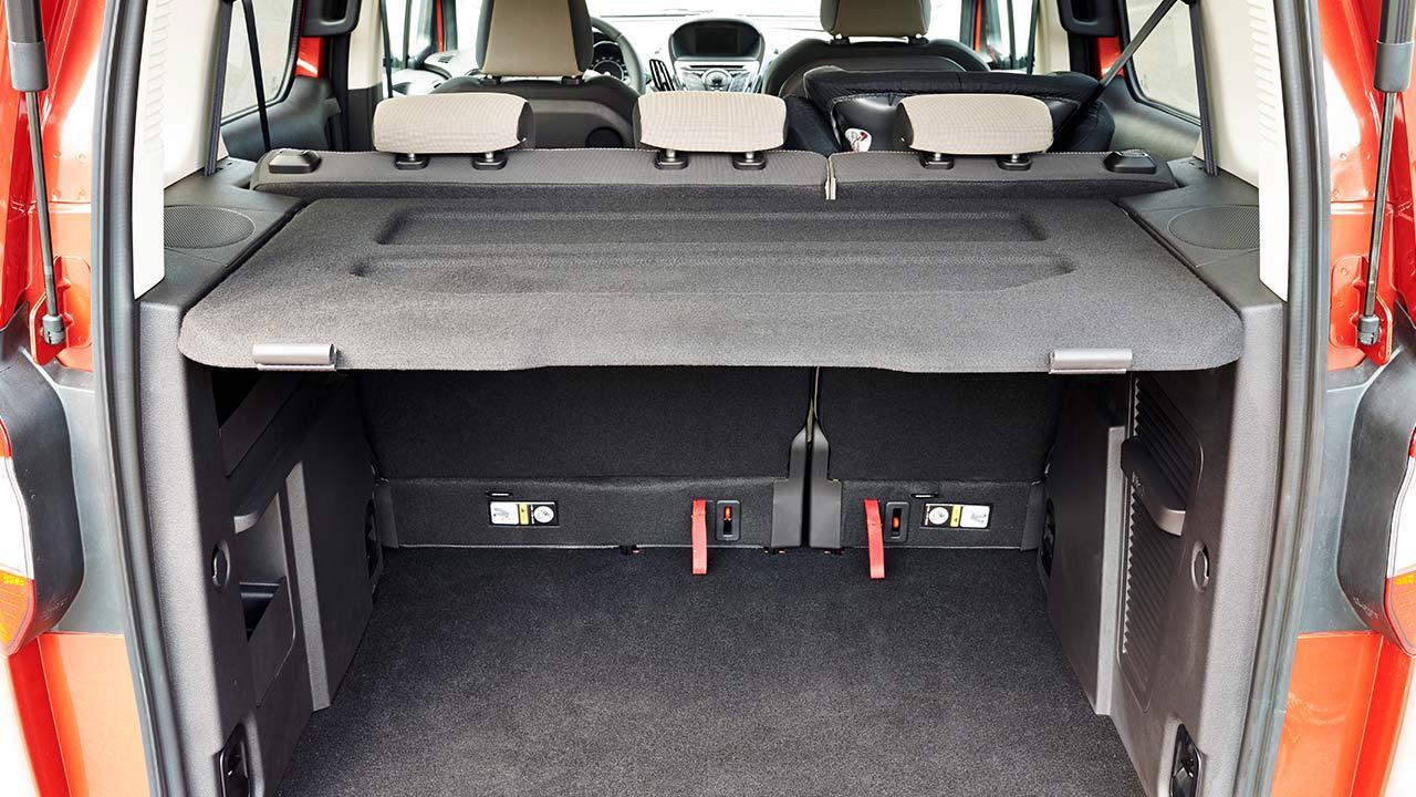 Ford Tourneo Courier - Kofferraum