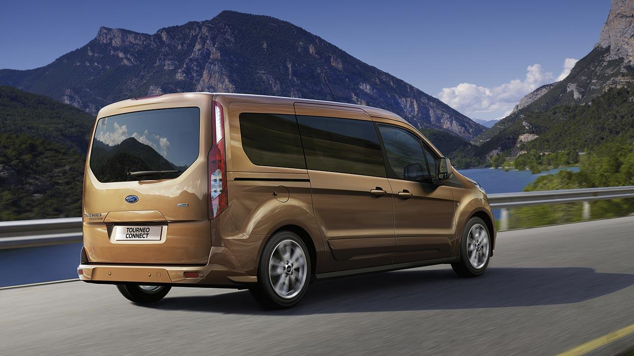 Ford Tourneo Connect - Heckansicht
