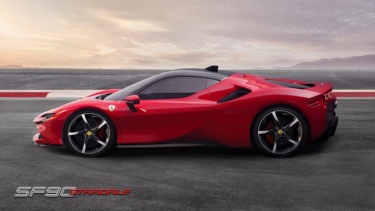 Ferrari SF90 Stradale -  Seitenansicht