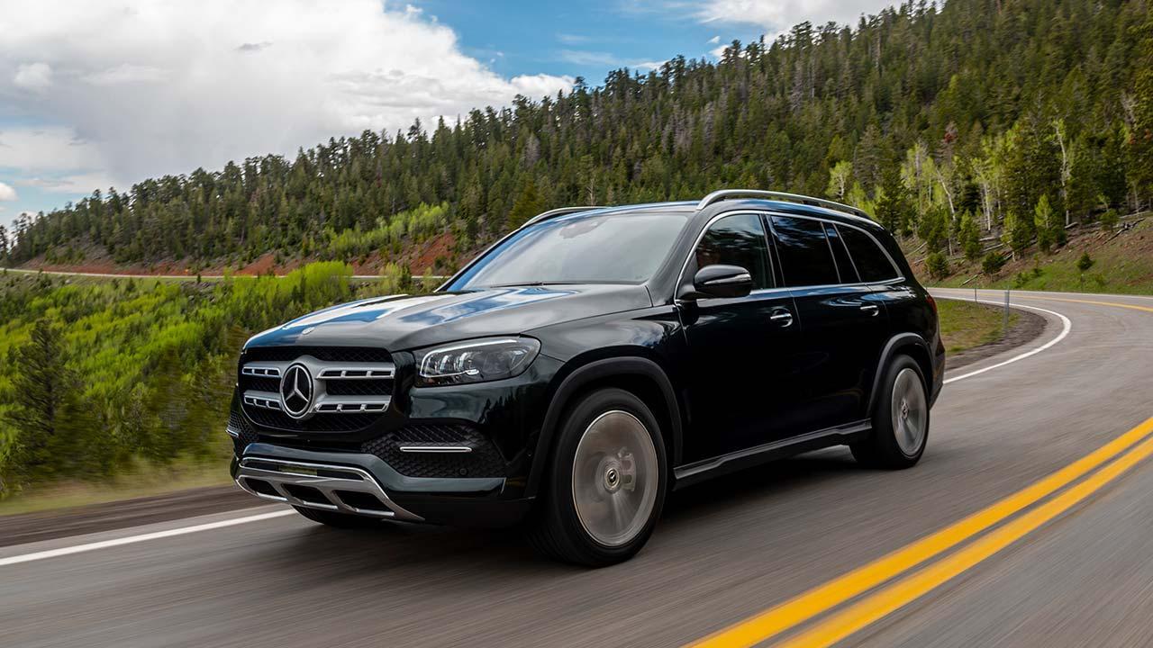 Mercedes-Benz GLS - in voller Fahrt