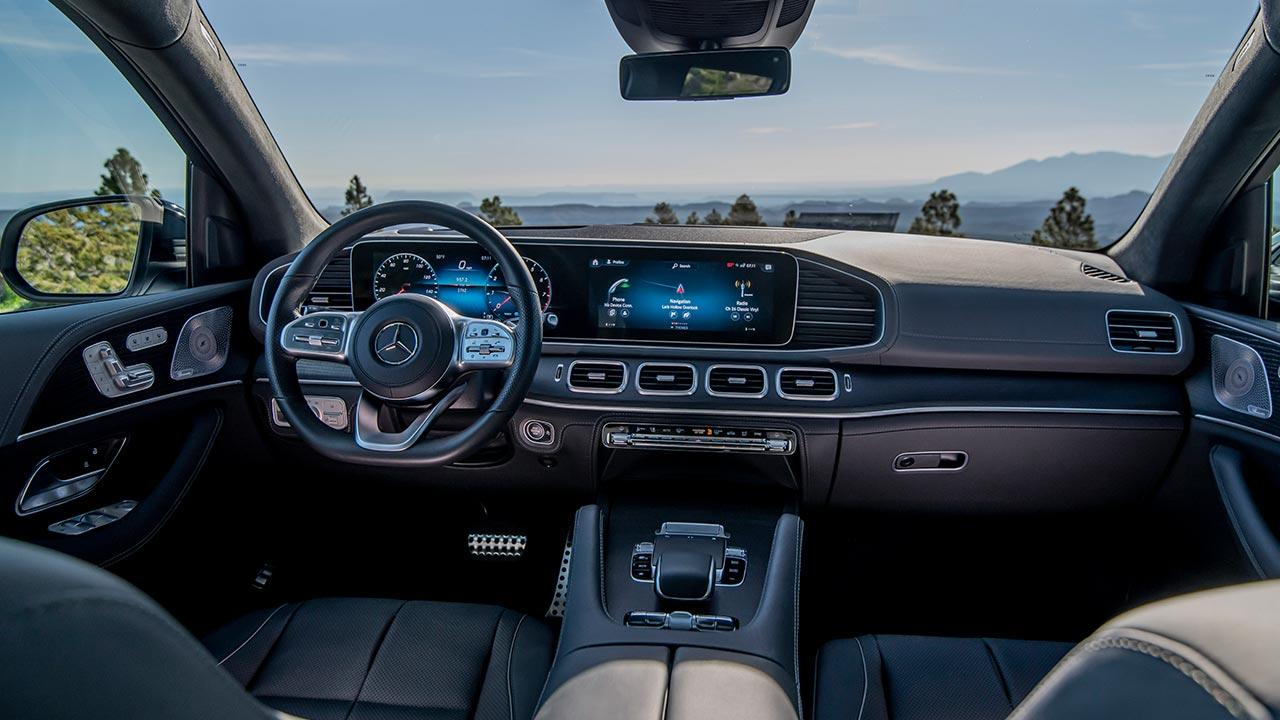 Mercedes-Benz GLS - Cockpit