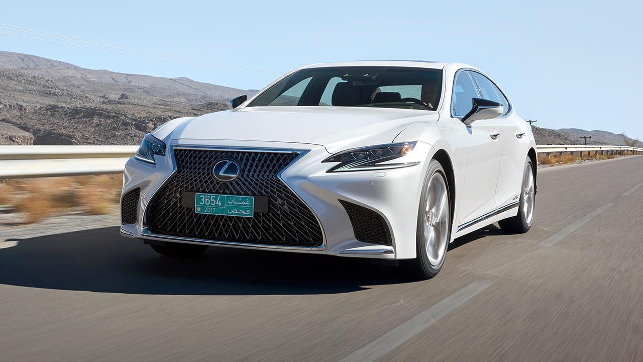 Lexus LS - Frontansicht