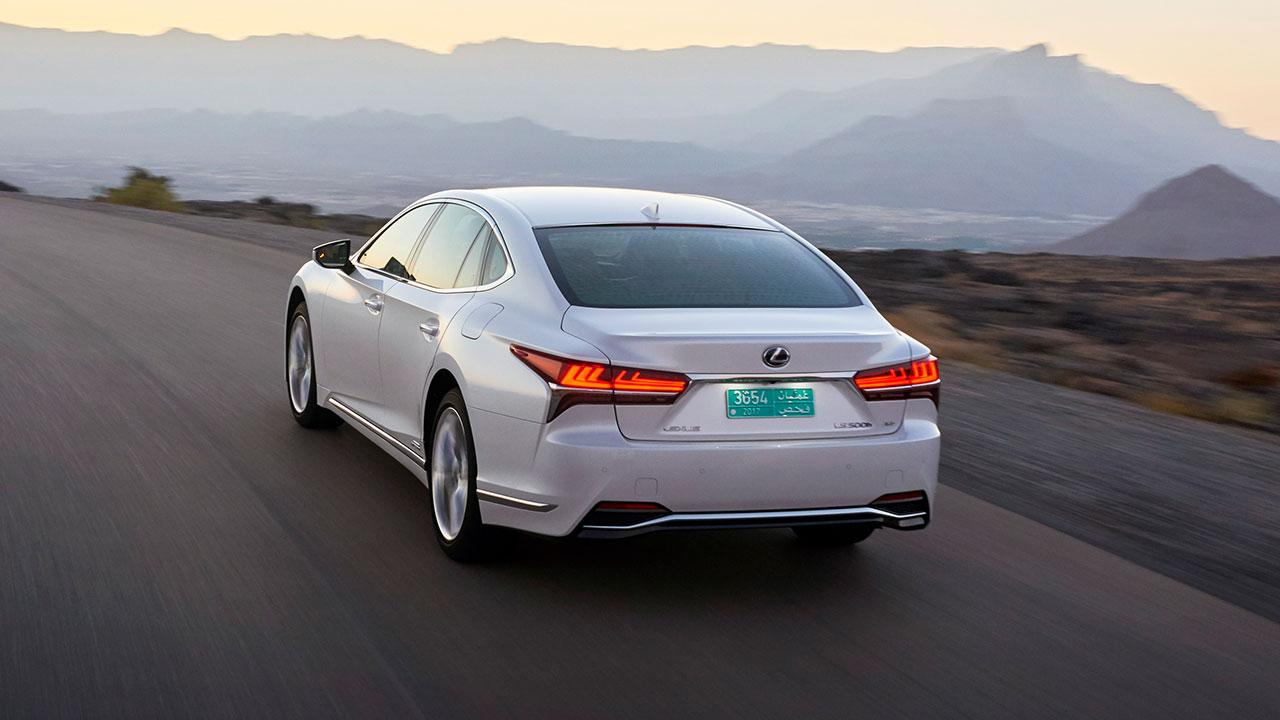 Lexus LS - Heckansicht