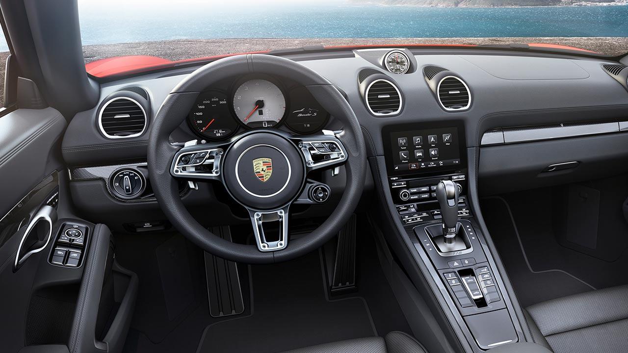 Porsche 718 Boxster - Cockpit