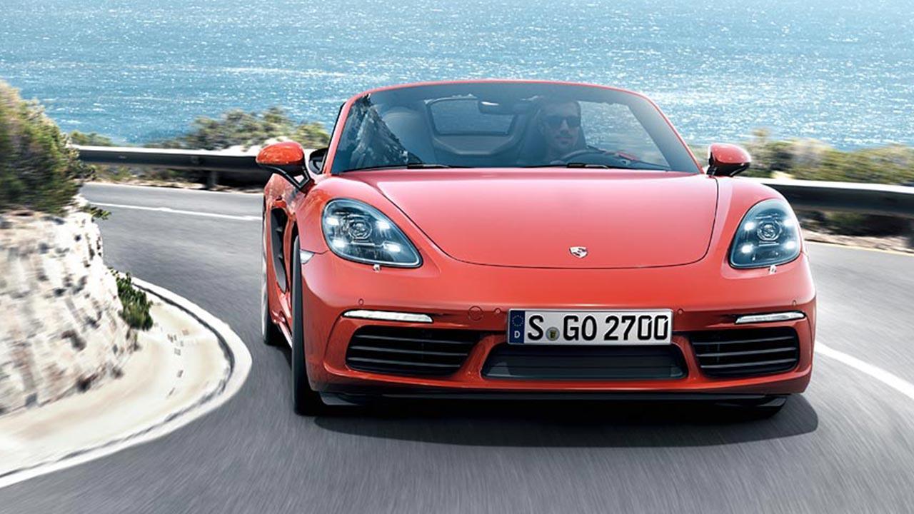 Porsche 718 Boxster S - Frontansicht