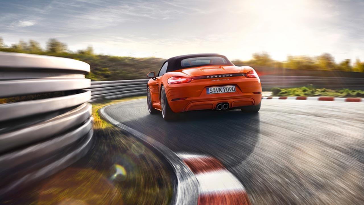 Porsche 718 Boxster S - Heckansicht